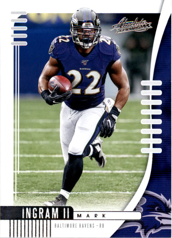 2019 Absolute Retail Mark Ingram II Baltimore Ravens