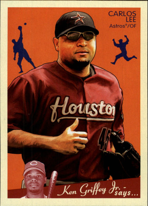2008 Upper Deck Goudey Carlos Lee Houston Astros