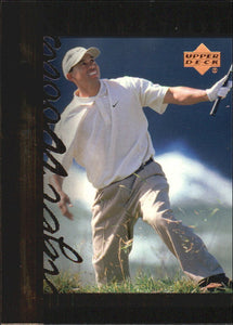 2001 Upper Deck Tiger Woods Tiger's Tales