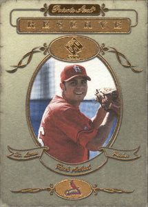 2001 Private Stock Reserve Rick Ankiel St Louis Cardinals