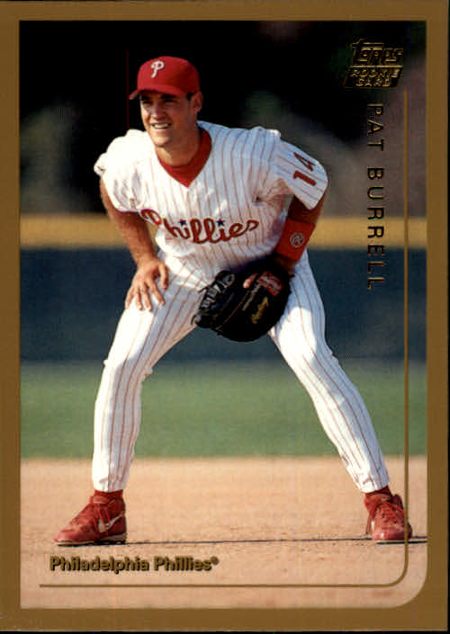 1999 Topps Traded Pat Burrell Rookie Card Philadelphia Phillies