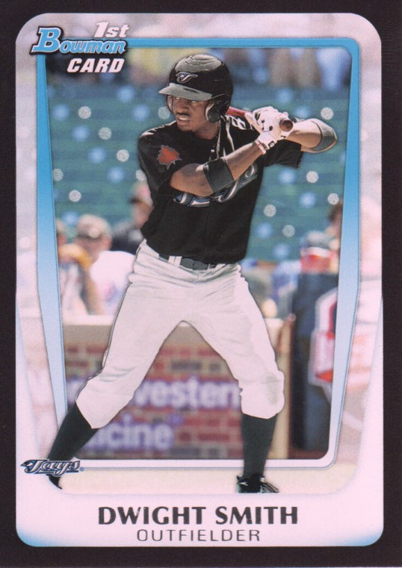 2011 Bowman Draft Prospects Dwight Smith Toronto Blue Jays