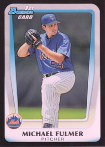 2011 Bowman Draft Prospects Michael Fulmer New York Mets