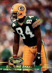 1993 Stadium Club Members Choice Sterling Sharpe Green Bay Packers