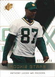 2000 Spx Rookie Stars /1350 Anthony Lucas Green Bay Packers