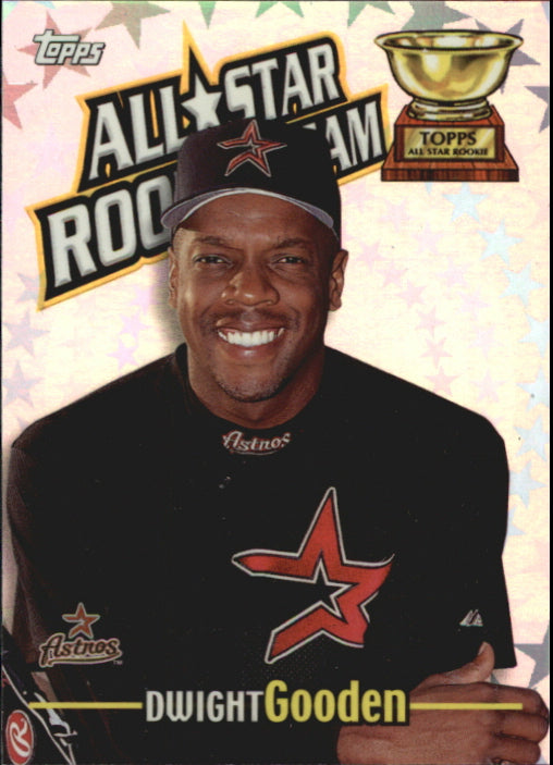 2000 Topps All Star Rookie Team Dwight Gooden Houston Astros