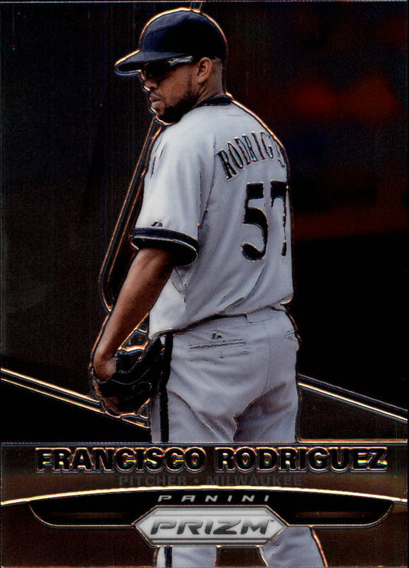 2015 Panini Prizm Francisco Rodriguez Milwaukee Brewers