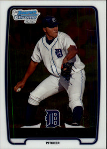 2012 Bowman Chrome Prospects Luis Angel Detroit Tigers