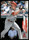 2020 Topps Matt Thaiss Rookie Card Los Angeles Angels