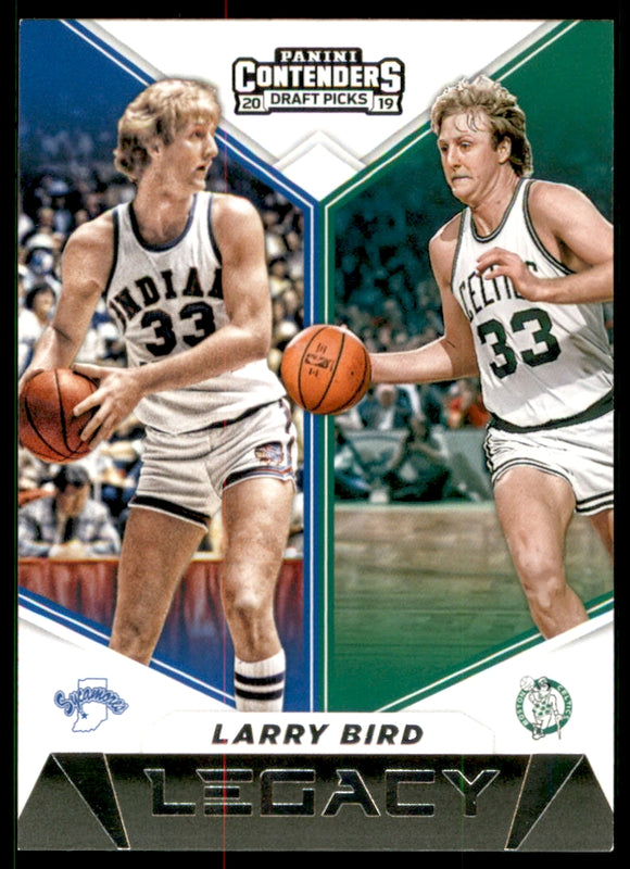 2019-20 Panini Contenders Draft Picks Legacy Larry Bird Boston Celtics