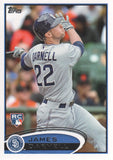 2012 Topps James Darnell Rookie Card San Diego Padres