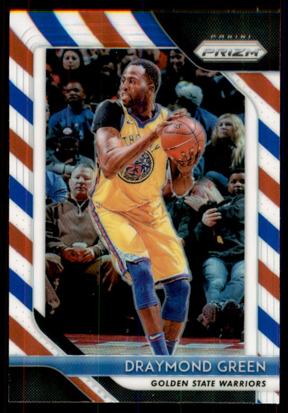 2018-19 Panini Prizm Prizms Red White And Blue Draymond Green Golden State Warriors