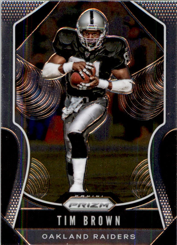 2019 Panini Prizm Base Tim Brown Oakland Raiders