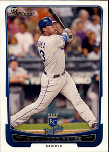 2012 Bowman Salvador Perez Kansas City Royals