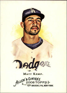 2008 Topps Allen Ginter Matt Kemp Los Angeles Dodgers