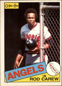 1985 O-Pee-Chee Rod Carew California Angels