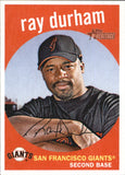 2008 Topps Heritage Ray Durham San Francisco Giants
