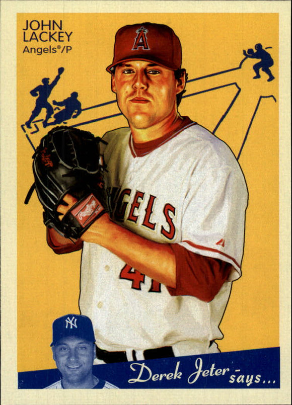 2008 Upper Deck Goudey John Lackey Los Angeles Angels