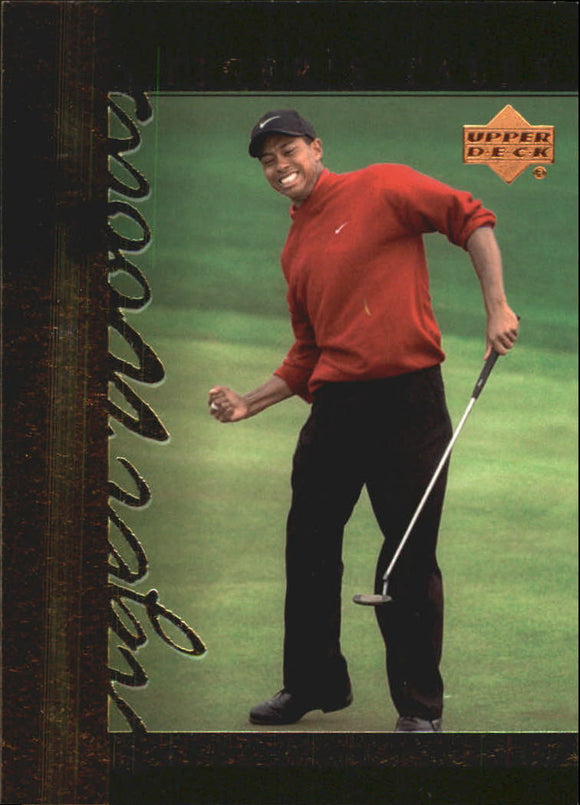 2001 Upper Deck Tiger Woods Tiger's Tale