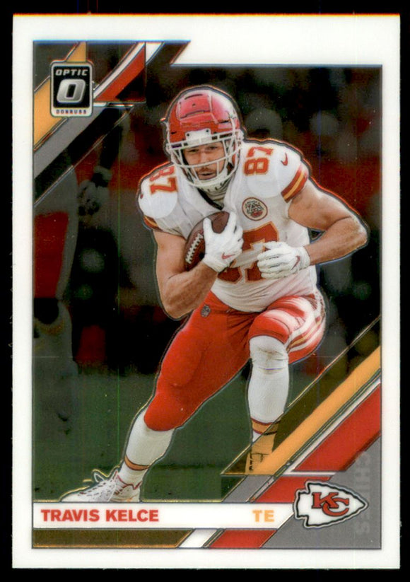 2019 Donruss Optic Travis Kelce Kansas City Chiefs