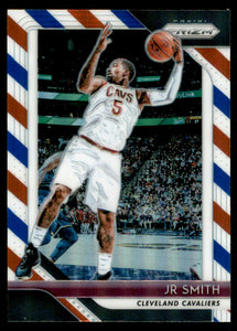 2018-19 Panini Prizm Prizms Red White Blue JR Smith Cleveland Cavaliers