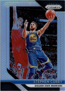 2018-19 Panini Prizm Prizms Silver Stephen Curry Golden State Warriors