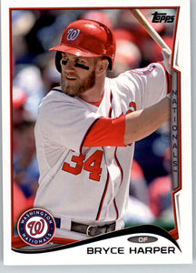 2014 Topps Bryce Harper Washington Nationals