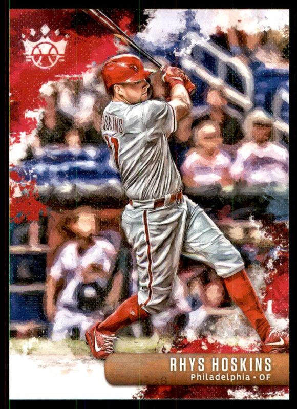 2019 Diamond Kings Rhys Hoskins Philadelphia Phillies