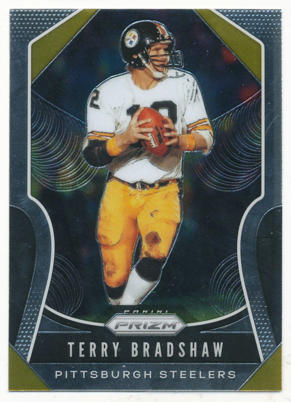 2019 Panini Prizm Base Terry Bradshaw Pittsburgh Steelers