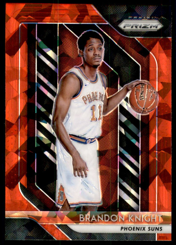 2018-19 Panini Prizm Prizms Red Ice Brandon Knight Phoenix Suns