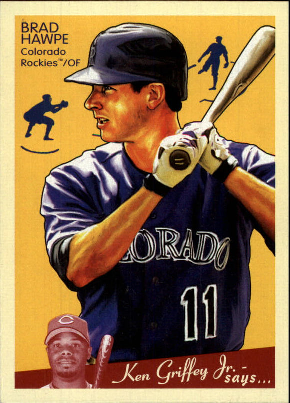 2008 Upper Deck Goudey Brad Hawpe Colorado Rockies