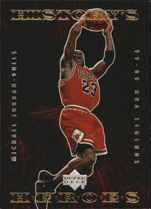 2000 Upper Deck Century Legends History's Heroes Michael Jordan Chicago Bulls