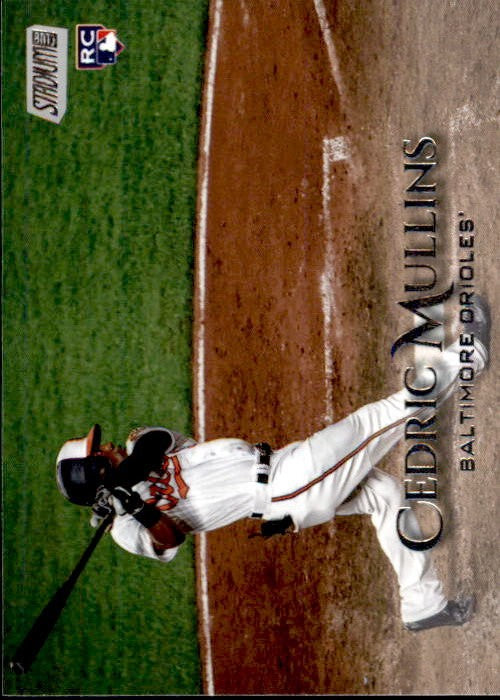 2019 Topps Stadium Club Cedric Mullins Rookie Card Baltimore Orioles