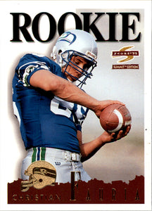 1995 Score Summit Christian Fauria Rookie Card Seattle Seahawks