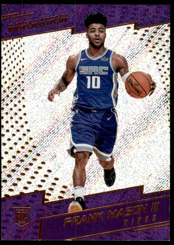 2017-18 Panini Revolution Frank Mason Rookie Card Sacramento Kings