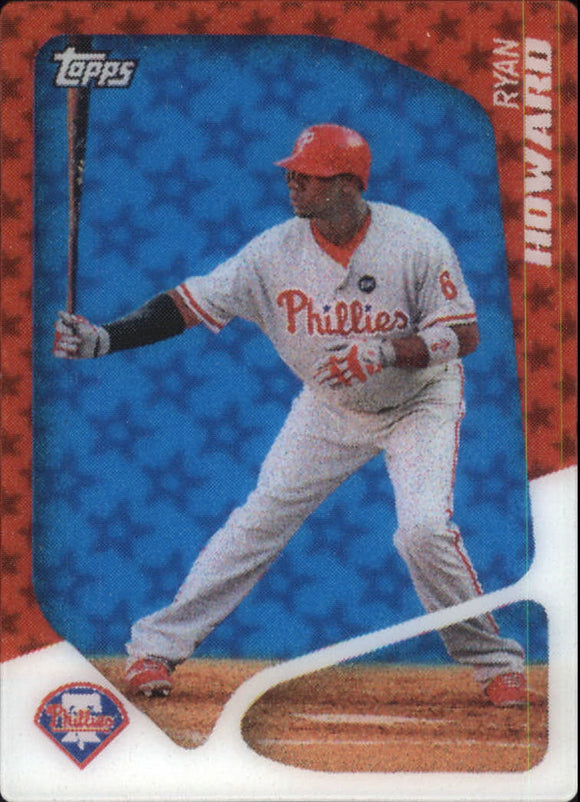 2010 Topps 2020 Ryan Howard Philadelphia Phillies
