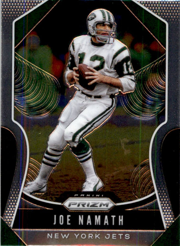 2019 Panini Prizm Base Joe Namath New York Jets