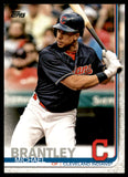 2019 Topps Michael Brantley Cleveland Indians