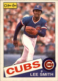 1985 O-Pee-Chee Lee Smith Chicago Cubs