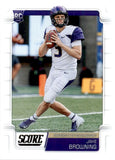 2019 Score Jake Browning Rookie Card Minnesota Vikings
