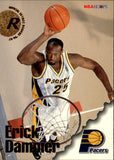 1996-97 NBA Hoops Erick Dampier Rookie Card Indiana Pacers