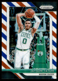 2018-19 Panini Prizm Prizms Red White Blue Jayson Tatum Boston Celtics