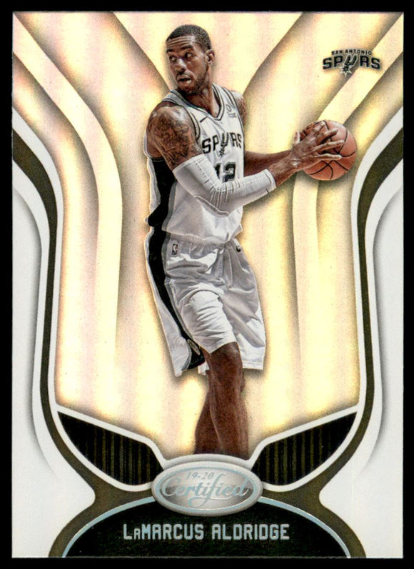 2019-20 Certified LaMarcus Aldridge San Antonio Spurs