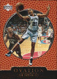 1998-99 Upper Deck Ovation Tim Duncan San Antonio Spurs
