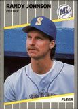 1989 Fleer Update Randy Johnson Rookie Card Seattle Mariners