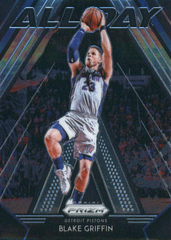 2018-19 Panini Prizm All Day Blake Griffin Detroit Pistons