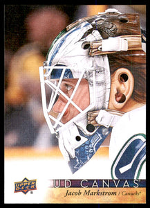 2017-18 Upper Deck Canvas Jacob Markstrom Vancouver Canucks