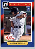 2014 Donruss The Rookies Mookie Betts Boston Red Sox