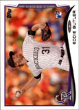 2014 Topps Update Eddie Butler Rookie Card Colorado Rockies