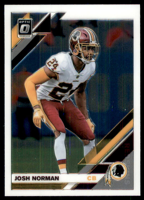 2019 Donruss Optic Josh Norman Washington Redskins